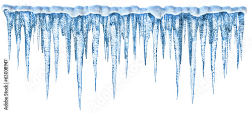 Icicles Canvas Print