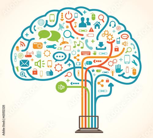 Fotografia Network brain