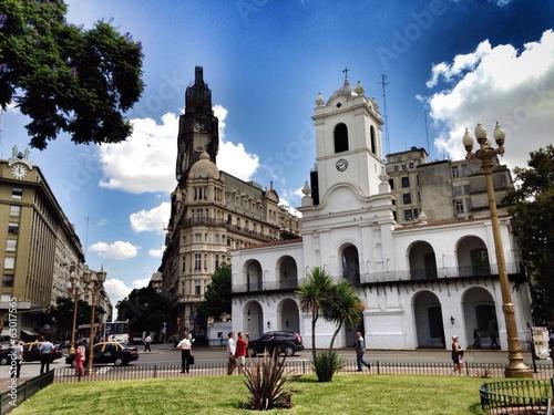 Spoed Foto op Canvas Buenos Aires Cabildo de Buenos Aires