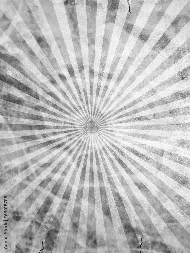 Photo  old rays pattern background