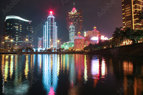 Poster Macao Casino at Night