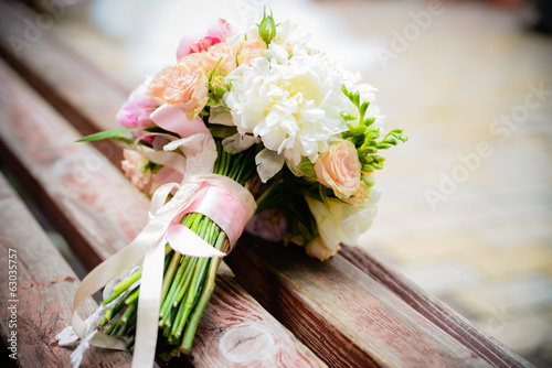 In de dag Bloemen wedding flowers