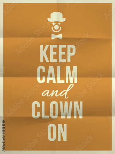 zachowaj-spokoj-i-klauna-na-cytacie-na-zlozonej-w-czterech-papierowej-fakturze