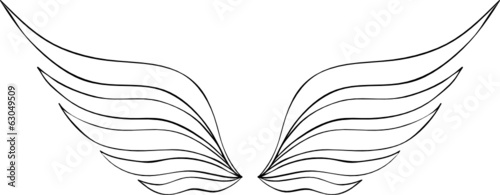 Flügel Vorlage