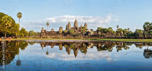 Foto  Panorama of Angkor Wat