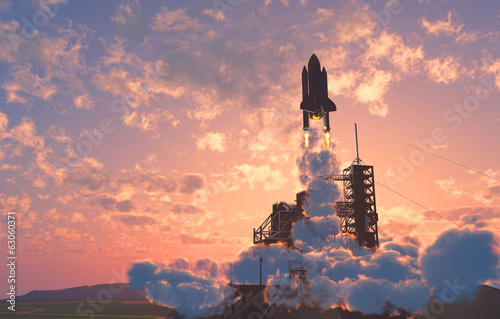 Canvas Prints Nasa The launch