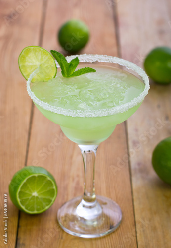 Fotografie, Obraz  Margarita in a glass