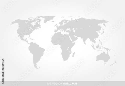 Light gray detailed world map buy this stock vector and explore light gray detailed world map gumiabroncs Gallery