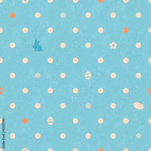 wielkanocny-polka-dot-bezszwowy-rocznika-wzor-w-blekitnym-kolorze