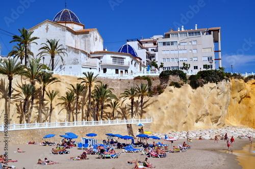 Playa del Mal Pas . Benidorm