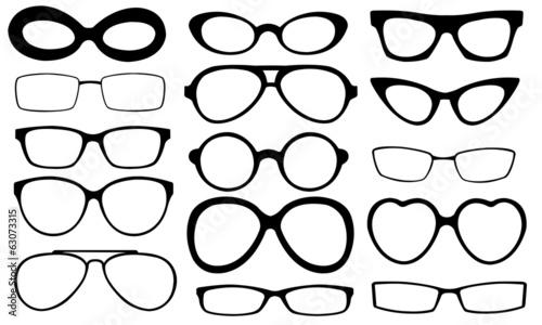 Obraz eyeglasses - fototapety do salonu