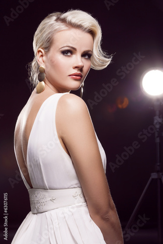 Photo  gorgeous blonde