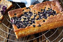Baked Blueberry Cake