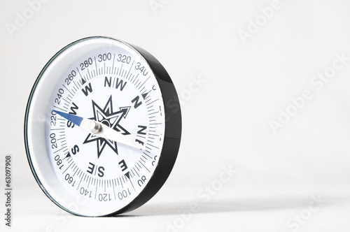 Analogic Compass Canvas Print