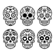 Mexican Sugar Skull, Dia De Lo...
