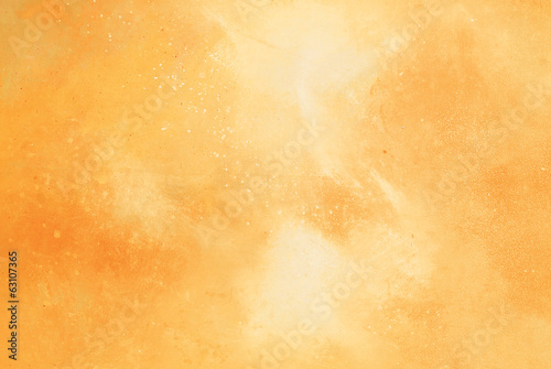Plakaty pomarańczowe  abstract-yellow-orange-watercolor-background