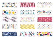 Washi Tape Strips, Scrapbook E...