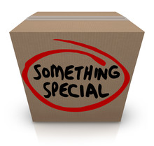 Something Special Cardboard Bo...