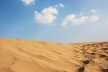 Desert With Blue Sky