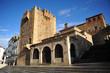 Plaza Mayor, Torre de Bujaco, Cáceres, España
