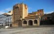 Main Square, Tower Bujaco, Cáceres, Spain