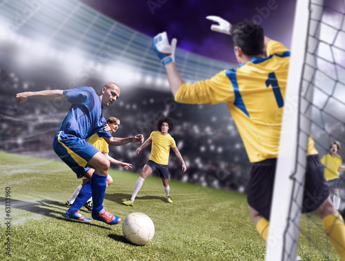 Photo  soccer game