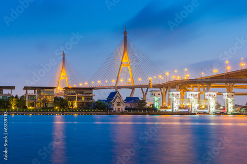 Photo  Bhumibol Bridge