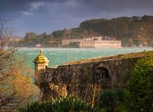 San Felipe And La Palma Castles On Ferrol