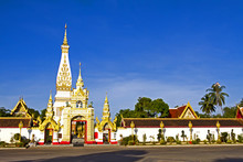 Sky Front Wat Phra That Phanom