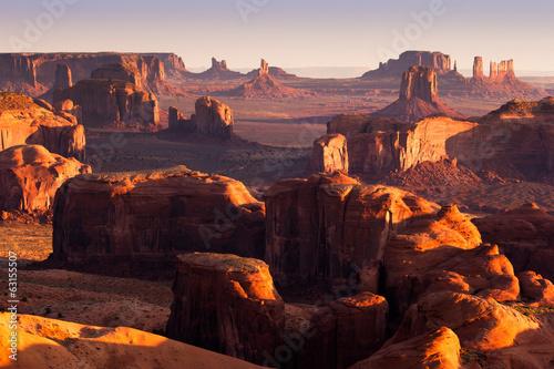 Fotografie, Obraz  Monument Valley, USA