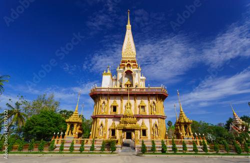 Fotografie, Obraz  Wat Chalong temple Phuket, Thailand
