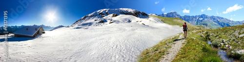 Panoramica inverno estate in montagna #63171395