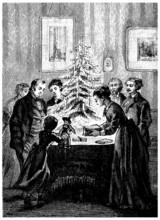 Christmas - Noël - End 19th Century
