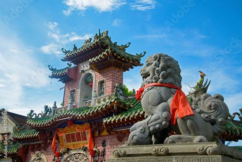 temple à hoi anh Fototapete