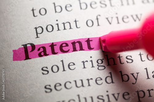 Fotografie, Obraz patent