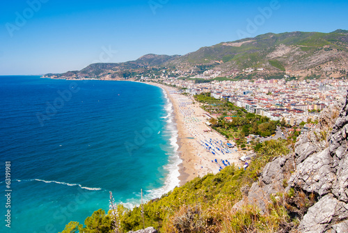 habor of Alanya Canvas Print