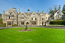 Manor House In Castle Combe, Wiltshire Of England