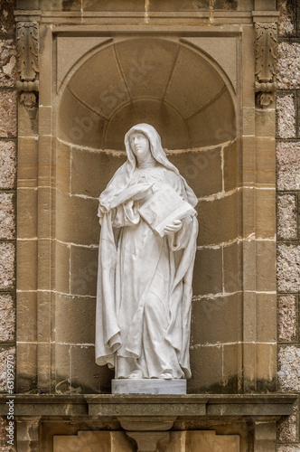 Valokuva St Teresa of Avila statue, Monstserrat, Catalonia, Spain