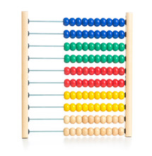 Wooden Colorful Abacus Kids To...