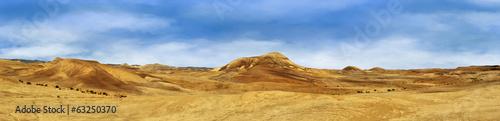 Staande foto Droogte Panorama Judean Desert