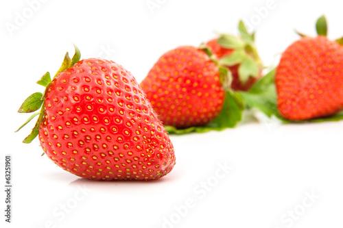 Foto op Aluminium Vruchten Strawberries berry