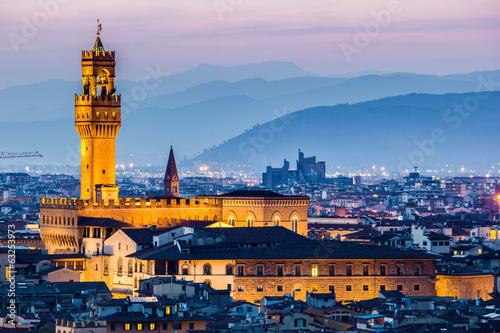 Fotografie, Obraz  Firenze, Palazzo della Signoria