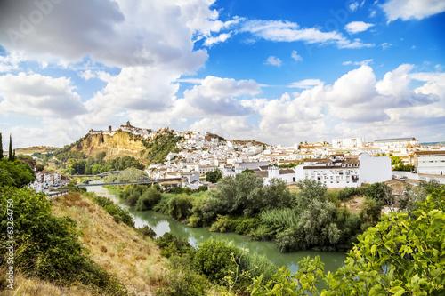 Arcos de la Frontera, beautiful town located in Cadiz.