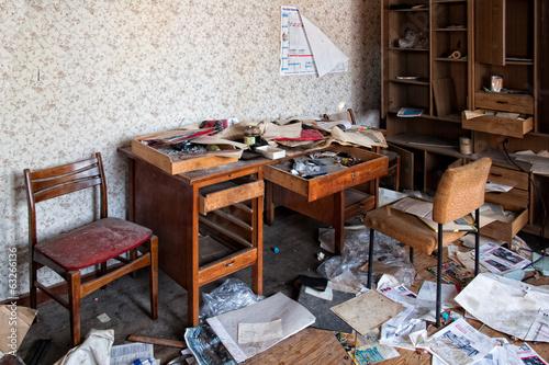 Photo Chaos im Büro