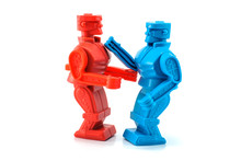 Robot Toy Fighting