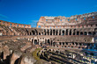 colosseum or coloseum at Rome Italy with Sunny Sky