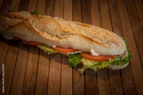 Staande foto Snack panini farciti