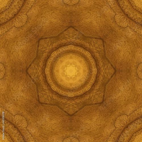 Seamless pattern, veneer teak Fototapet