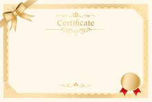 Retro Frame Certificate Templa...