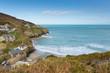 St Agnes beach north coast of Cornwall England